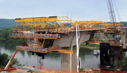 Most u izgradnji