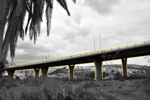 Most od betona