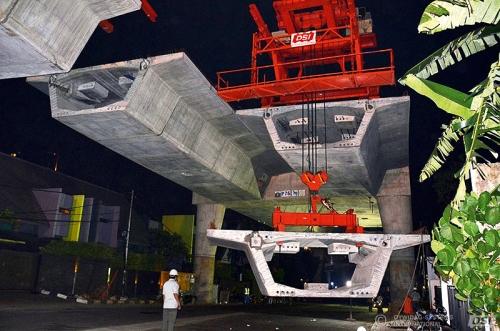 Izgradnja betonskog mosta