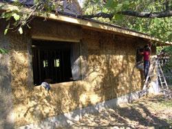 Gradnja kuće balama slame