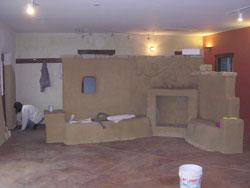 Enterijer kuće od slame