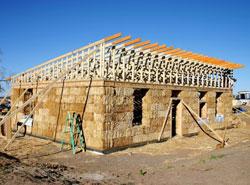 Gradnja kuće od slame
