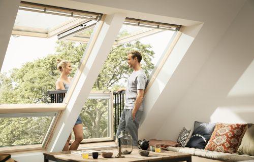 Krovni balkon - VELUX Cabrio®