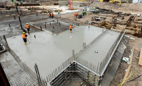 Ravnjanje betonske ploče