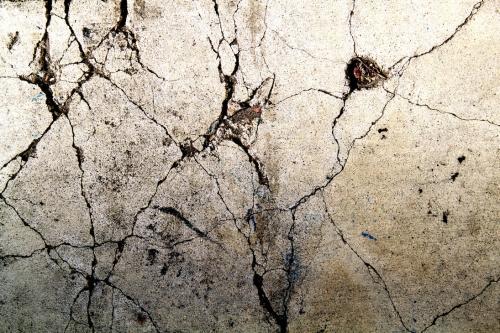 Pukotine na površini betona