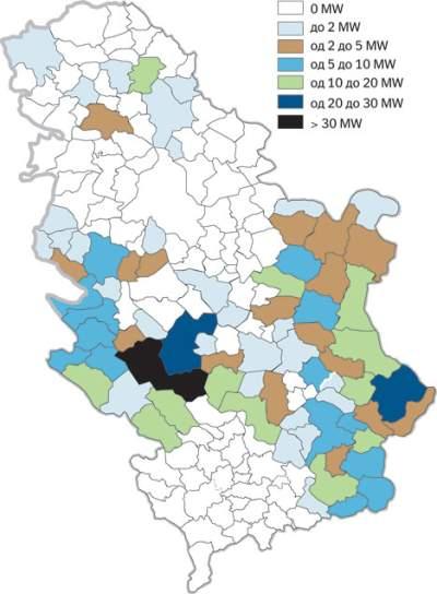 mapa vodotokova srbije Male elektrane čekaju graditelje   Gradjevinarstvo.rs mapa vodotokova srbije