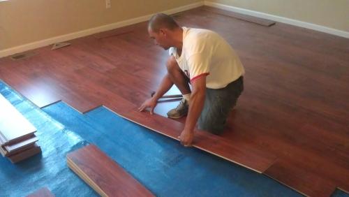 Postavljanje laminatnih podova