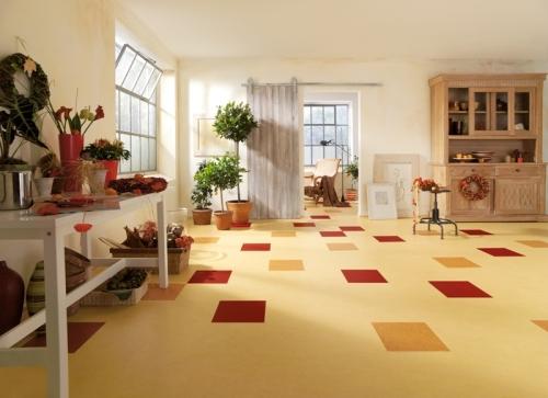 marmoleum i povratak linoleumskih podova. Black Bedroom Furniture Sets. Home Design Ideas