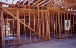drvena konstrukcija na koju se naknadno postavljaju OSB ploče