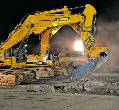 Rušenje betonskih ploča