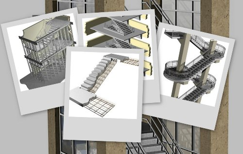 Pločaste prefabrikovane AB stepenice