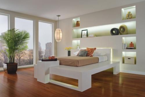 LED rasveta spavaće sobe