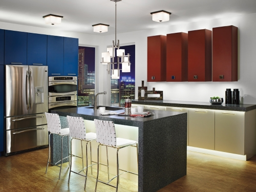 LED rasveta u kuhinji