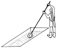Upotreba velike zidarske kašike