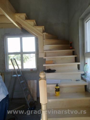 Gazista drvena - Drvena gazista za stepenice, h... - Mali Oglasi - Građevinar...